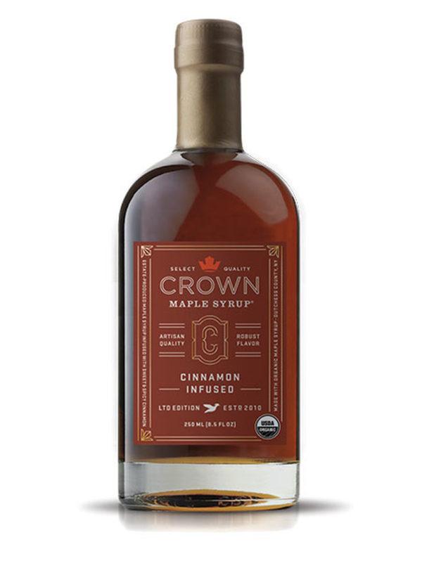 Javorový sirup Crown Maple Cinnamon Infused 250 ml - Gril-Zahrada.cz