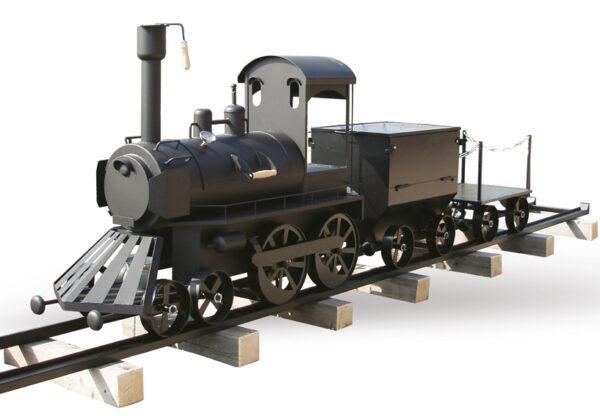 Gril na dřevo Smoky Fun Train - Gril-Zahrada.cz